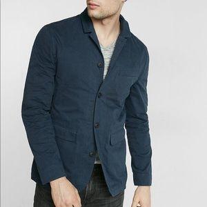 Express navy military blazer jacket NWT size small